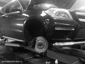 Диагностика тормозной системы в автосервисе MobilService
