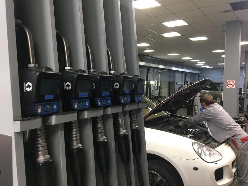 Обслуживание Porsche